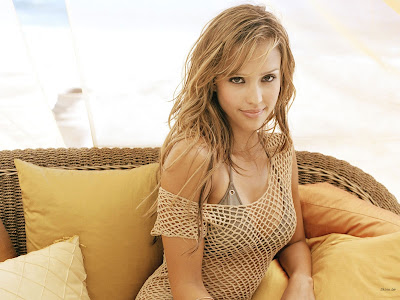 jessica alba nude wallpaper
