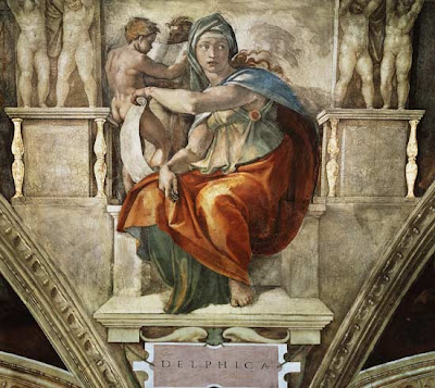 Michael Angelo's Amazing Paintings On The Sistine Chapel
