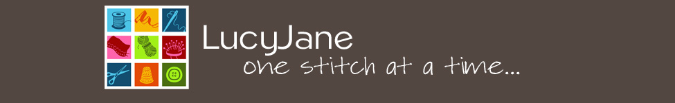 LUCY JANE studio | One Stitch at a Time