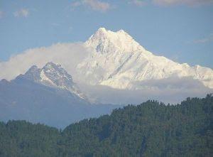 Kangchenjunga, Pegunungan Himalaya