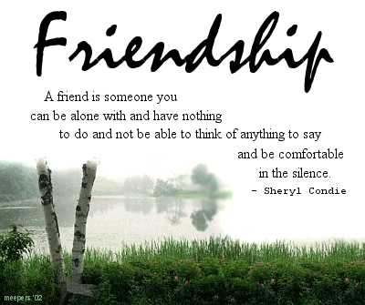 sayings and quotes about friends. Cute Friendship Quotes - How