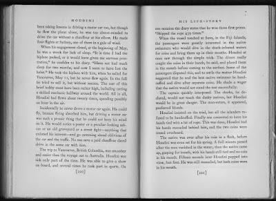 Houdini, his life story pag 221