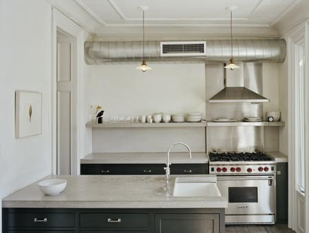 [Houzz+eclectic+kitchen]