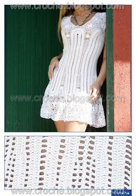 Pensando en un vestidos tejido!!!!!