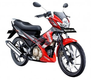 New Suzuki Satria FU 150