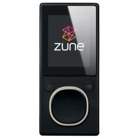 Zune 8 GB Digital Media Player Black