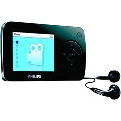 Philips SA60 4 GB Flash Video MP3 Player FM Tuner