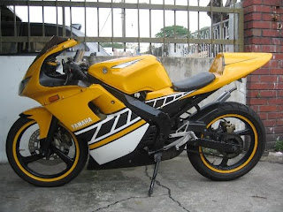Yamaha TZM 150 Modification