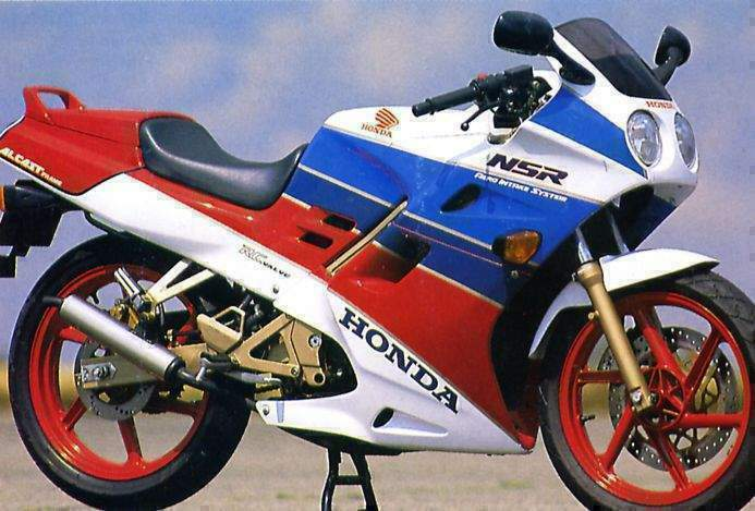 two stroke motorcycles