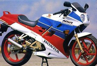 Honda NSR 125 R - Honda 125CC Two Stroke Motorcycles