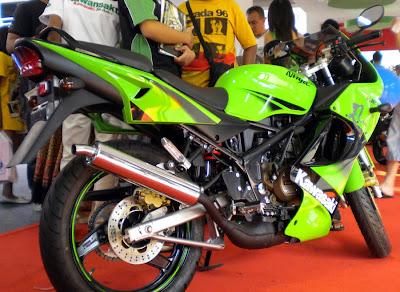 New Kawasaki Ninja 150RR - 2011 Kawasaki Motorcycles