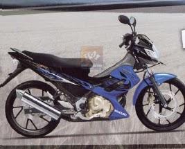 New Suzuki Satria FU 150 BLUE