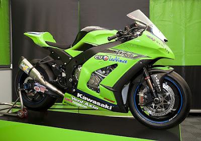 kawasaki zx10r superbike