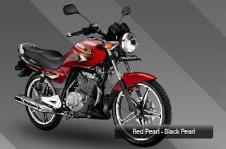 Suzuki Thunder 125 merah
