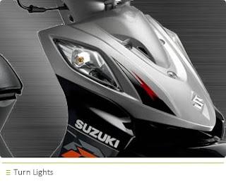 Suzuki Shogun 125 RR front