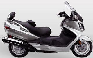 2011 Suzuki Burgman 650 Executive Scooter