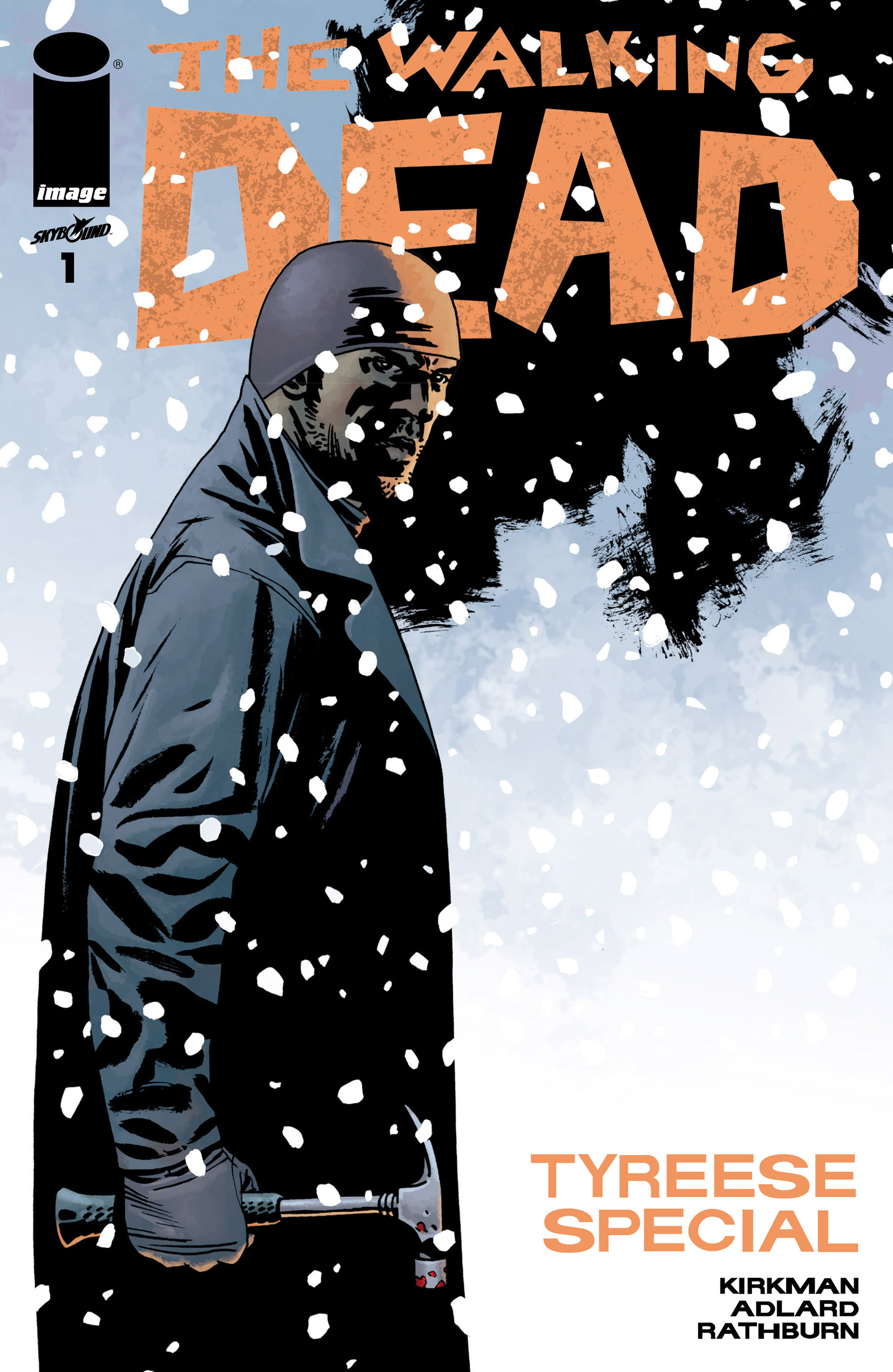 The Walking Dead _Special_-_Tyreese_Special Page 1