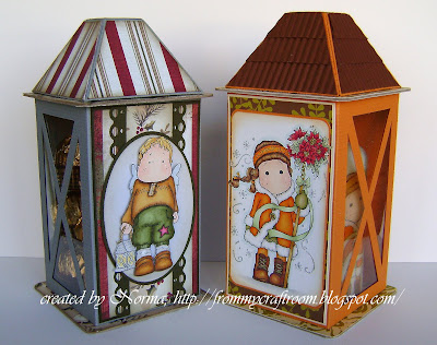 From my craft room tutorial lantern gift box for Paper lantern tutorial
