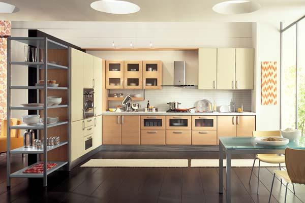 revista populares: Italiano diseños de la cocina moderna de Gabinetes