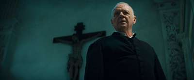Sir anthony Hopkins in The Rite 2011 Horror Film