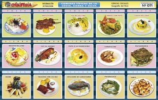 comidas tipicas de junin:
