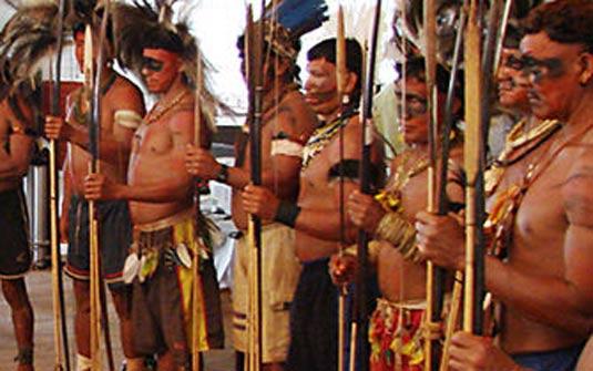 Indios Yanomami Artesanato ~ Mata Atl u00e2ntica Principais tribosíndiginas