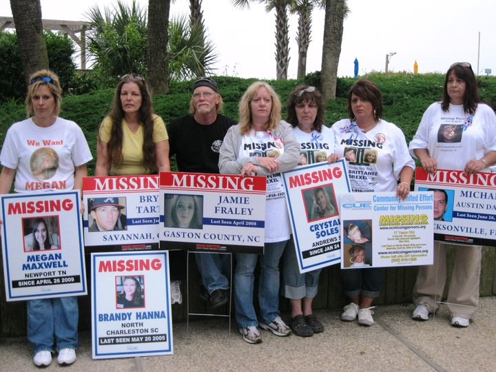 Justice for megan maxwell families of missing teen for Bar harbor motor inn myrtle beach