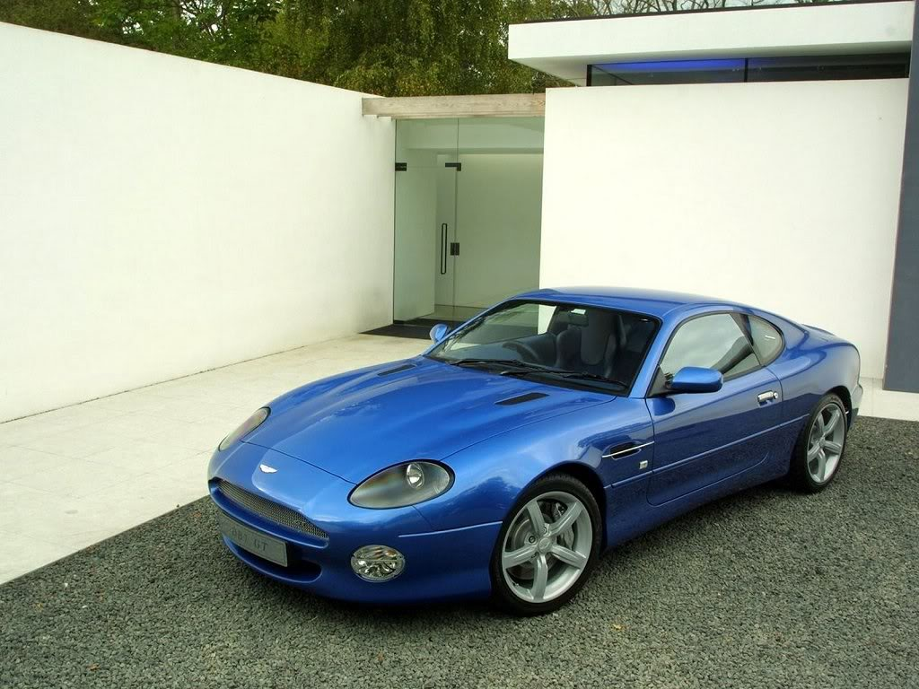 sports cars pictures: aston martin db7 gt images