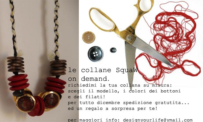 Squaw on demand le collane di vecchi bottoni su richiesta design your life - Collane di design ...
