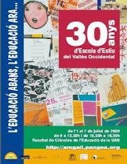 Programa 30a Escola d'Estiu del Vallès Occidental