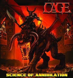 Cage Announces Ltd. Edition Vinyl Version of 'Science of Annihilation' (Pure Steel Records)