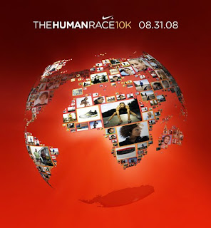Nike's 'The Human Race' Takes Place on 8-31-08
