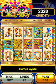 Cleopatra Slot Machine Game Now Available for the iPhone/iTouch