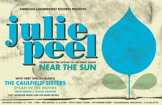 Julie Peel - CD Release Part at Pete's Candy Store on October 10th