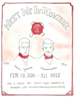 Calvin Johnson and Rapper Astronautalis Play a Show in Montauk on Feb. 10 // Private Bus Running from Bruar Falls