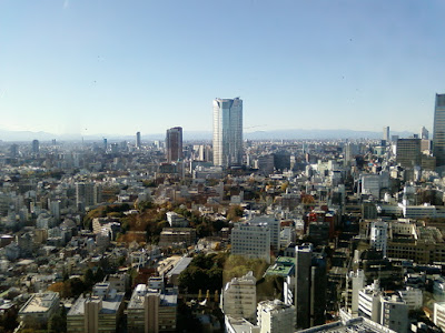 top of the tokyo tower