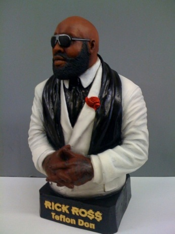 rick ross cop pictures. Rick Ross has a pretty