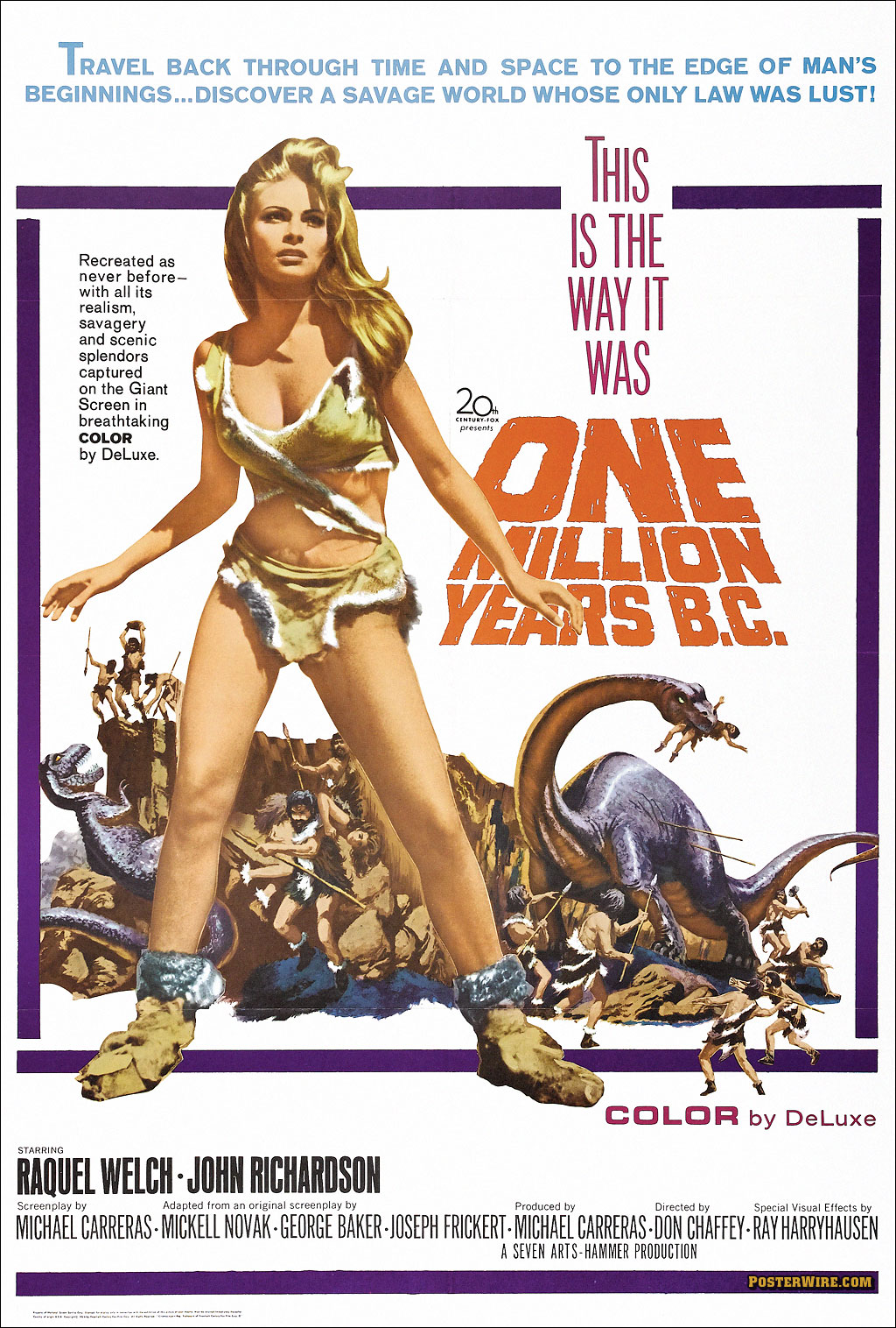 One Million Years B.C. movie