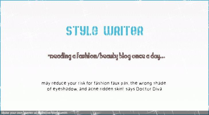 Style Writer Blog