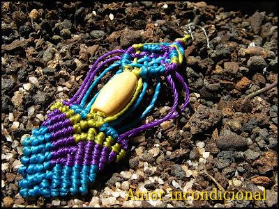 macrame aros multicolor