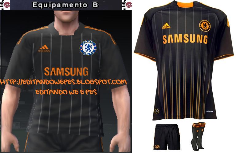Uniforme Chelsea PES 2010