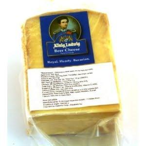 """King Ludwig"""" beer cheese is washed in King Ludwig brand dark beer ..."""