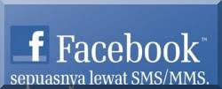 FB via SMS