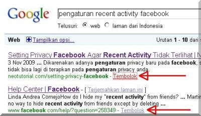 Tembolok Google