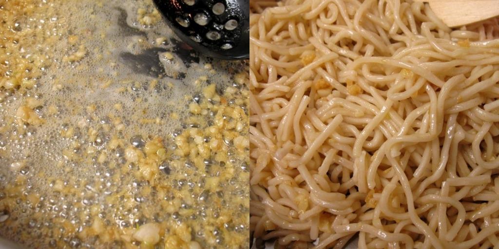 MzTasty's Kitchen, Savor The Flavor: Pan-Fried Garlic Noodles