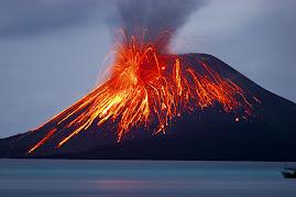 Krakatau Erupts