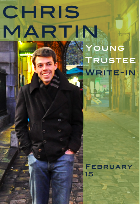 Chris Martin for Duke Young Trustee