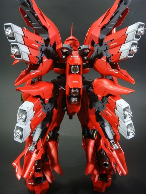 Rg >> Sinanju FWS (Full Weapon System) ~ TOYMAKER