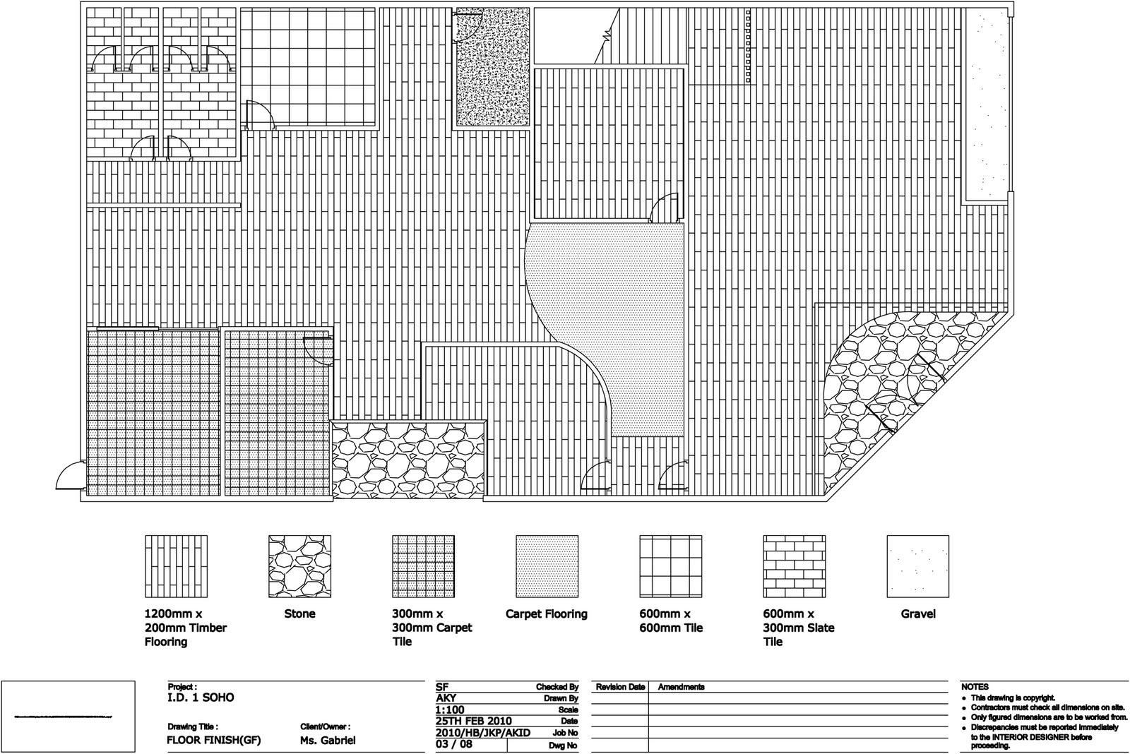 Quantum1980 interior design 1 soho small office home for Interior floor plan