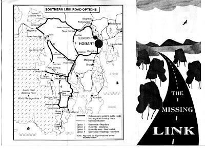 The Missing Link pamphlet facsimile - outside